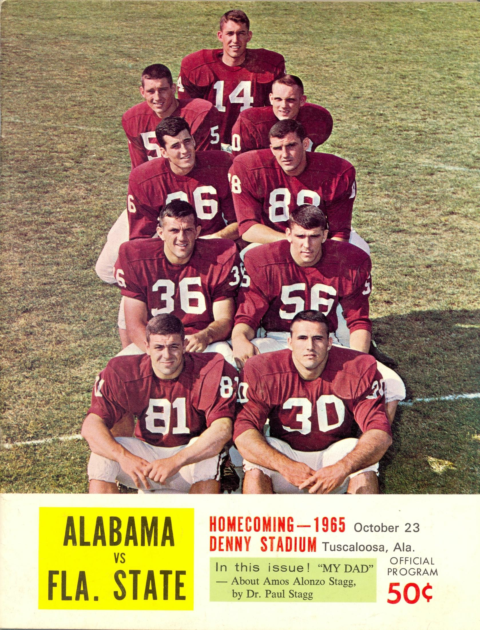 florida state football 1965 year in review