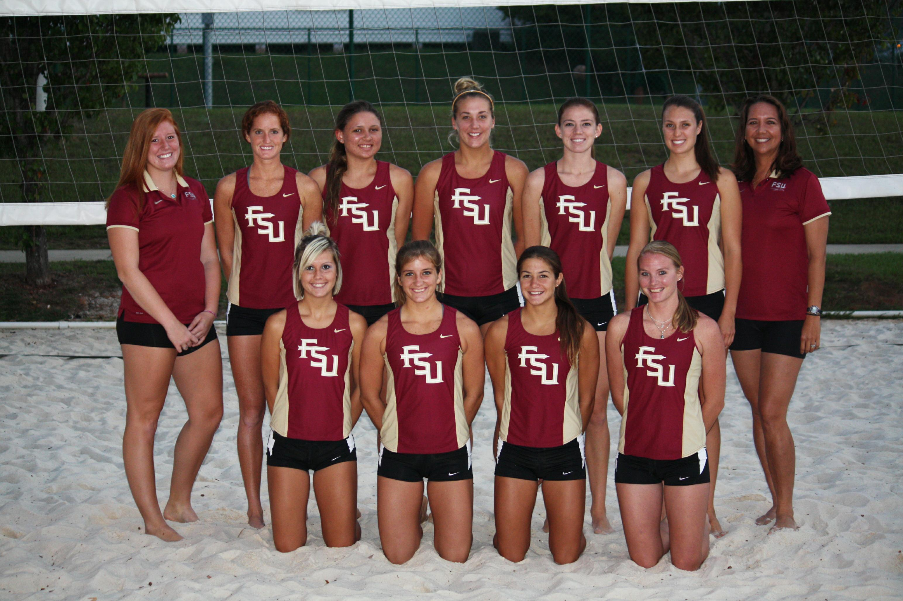 2012 Florida State Women S Sand Volleyball Team