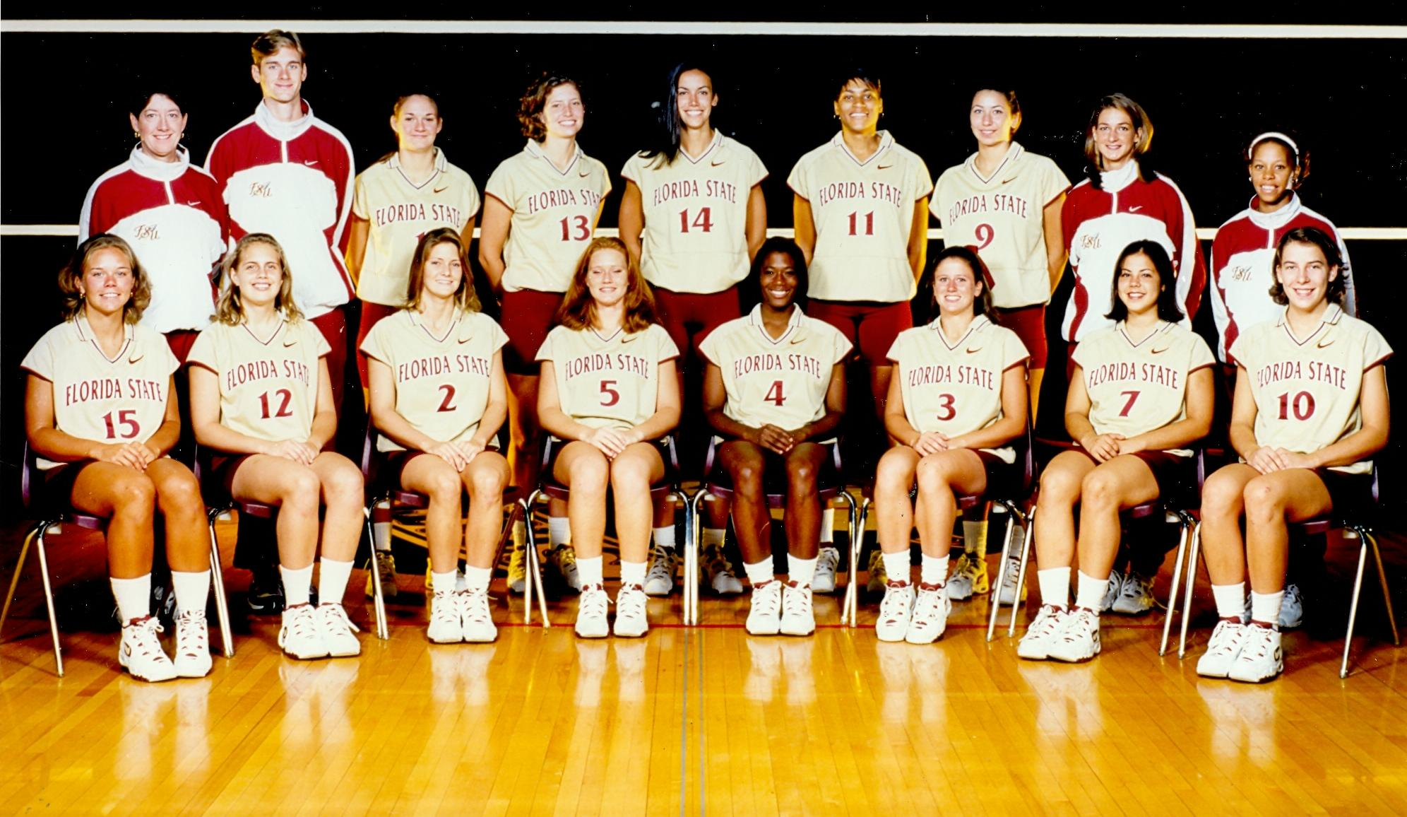 1997 Fsu Women S Volleyball Team