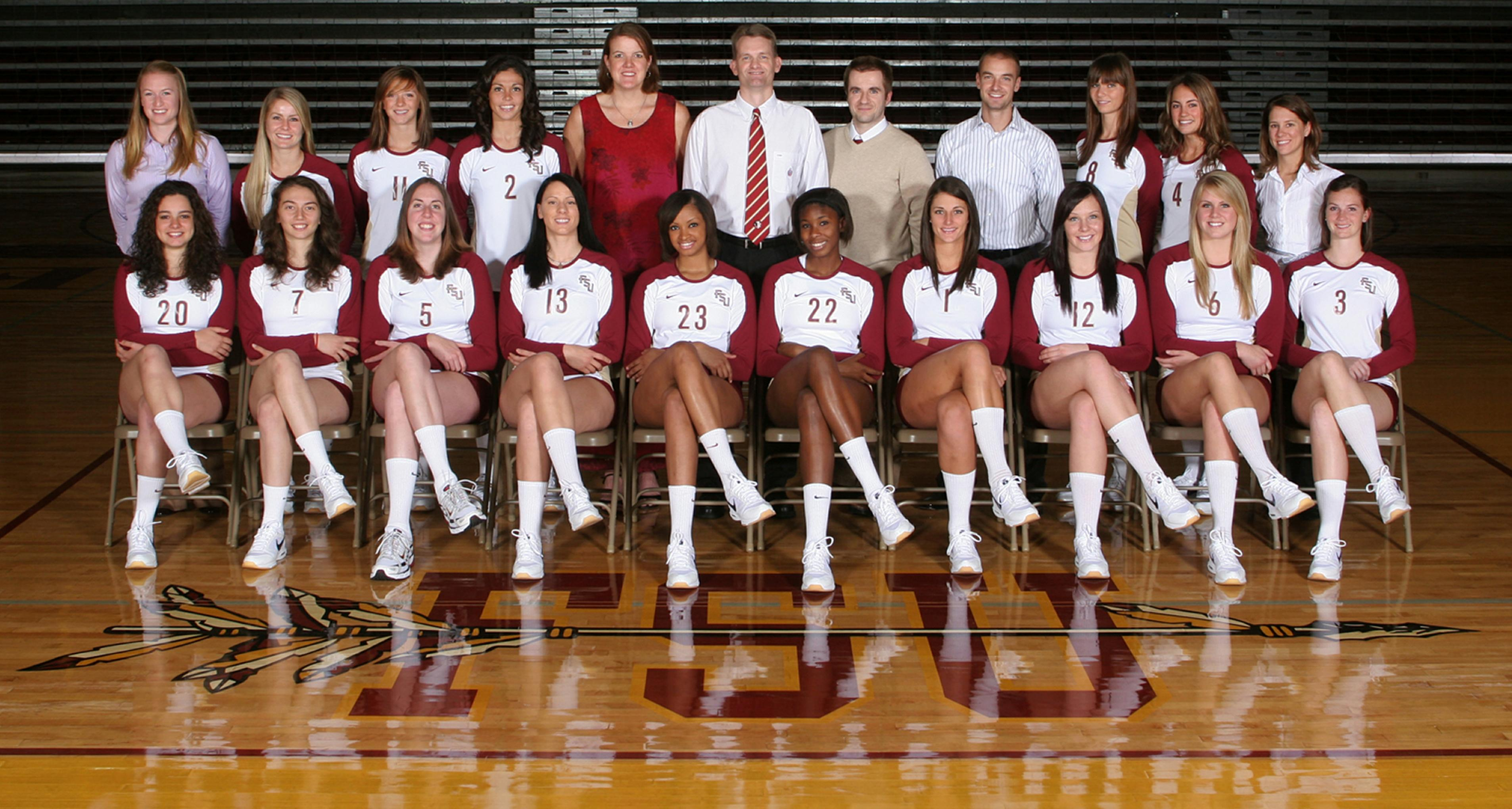 2009 Fsu Women S Volleyball Team