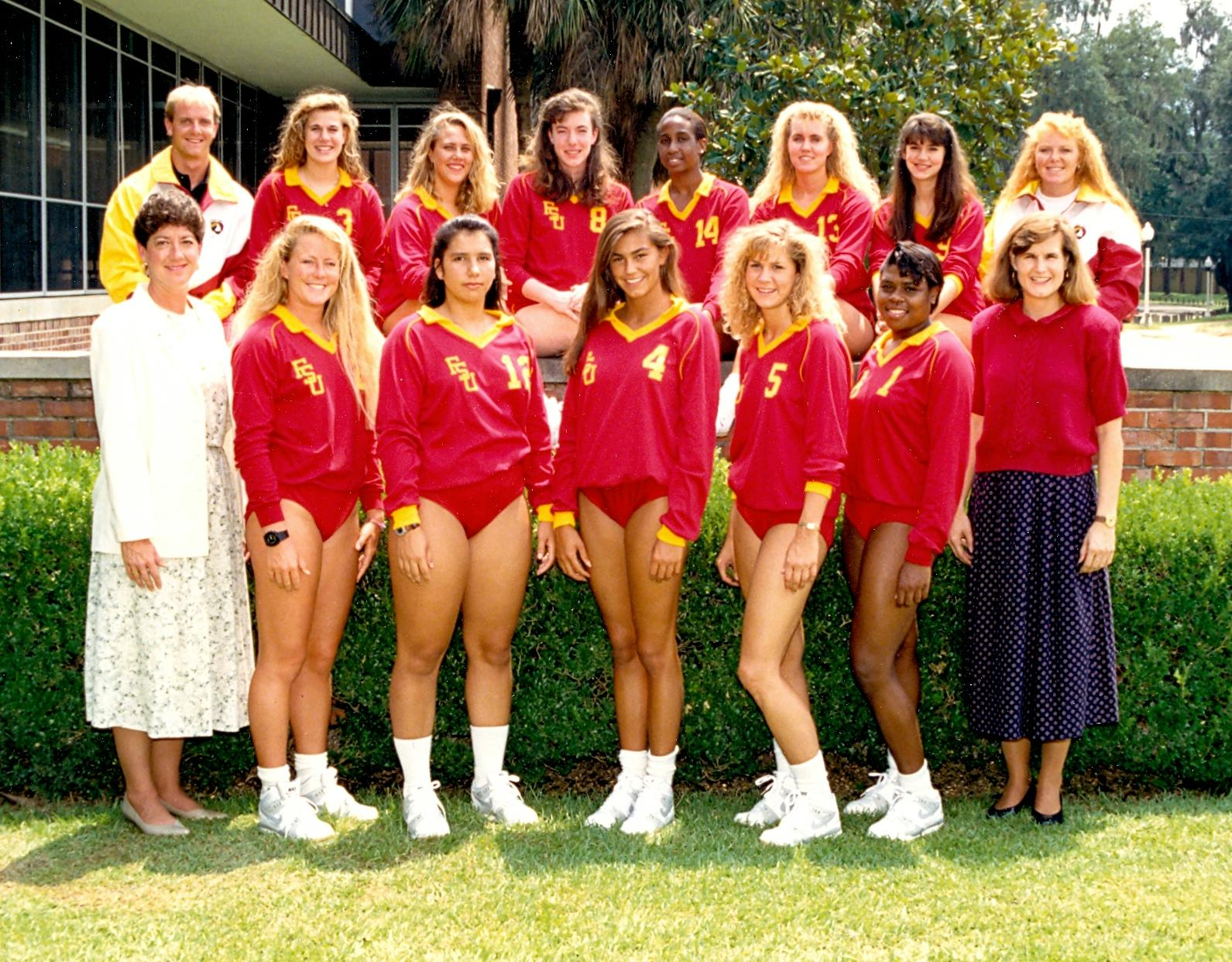 florida state women s volleyball 1991 year in review